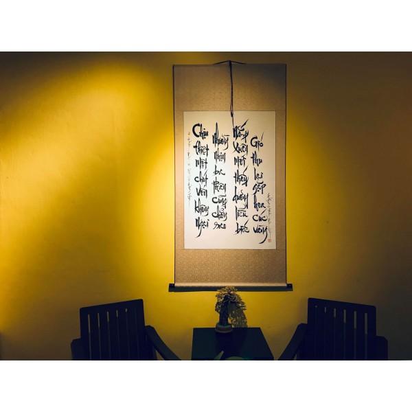 Thơ của đại sư Hám Sơn - Ngẫu Thư viết
